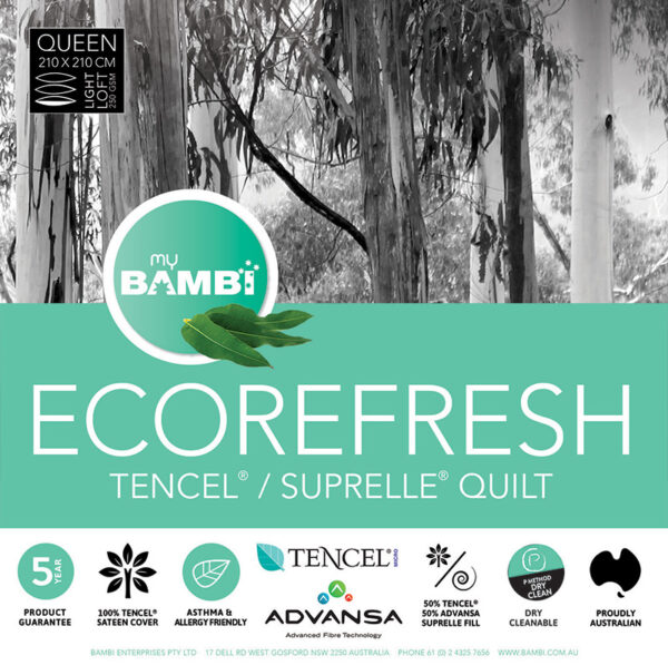 ECOREFRESH TENCEL SUPRELLE QUILT