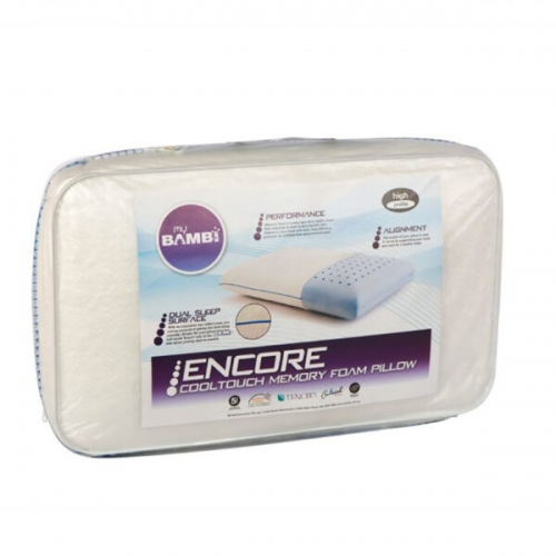 Encore cool touch memory foam pillow